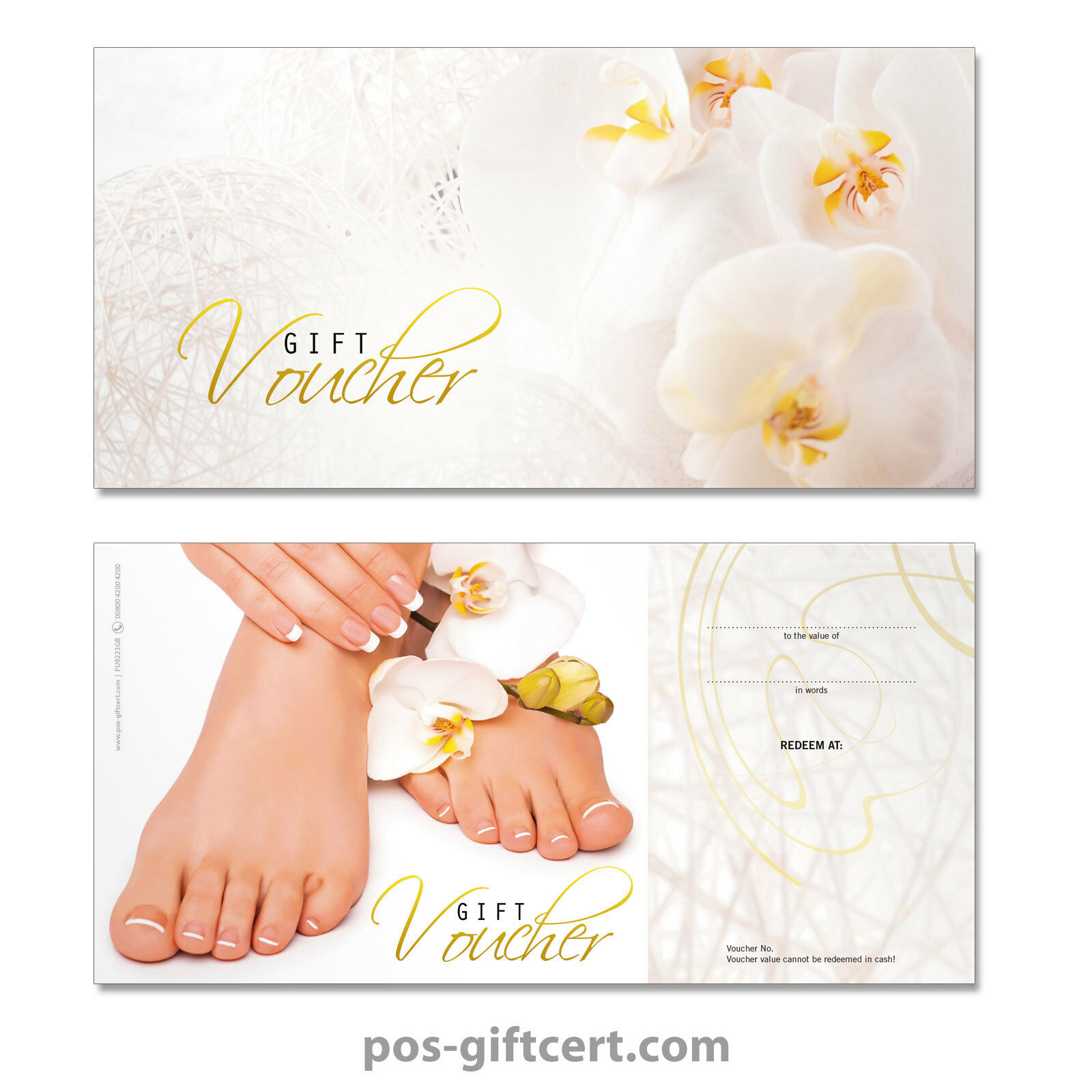 Gift vouchers for foot and nail care, pedicure, podiatry FU9223GB | Deutschland Shop
