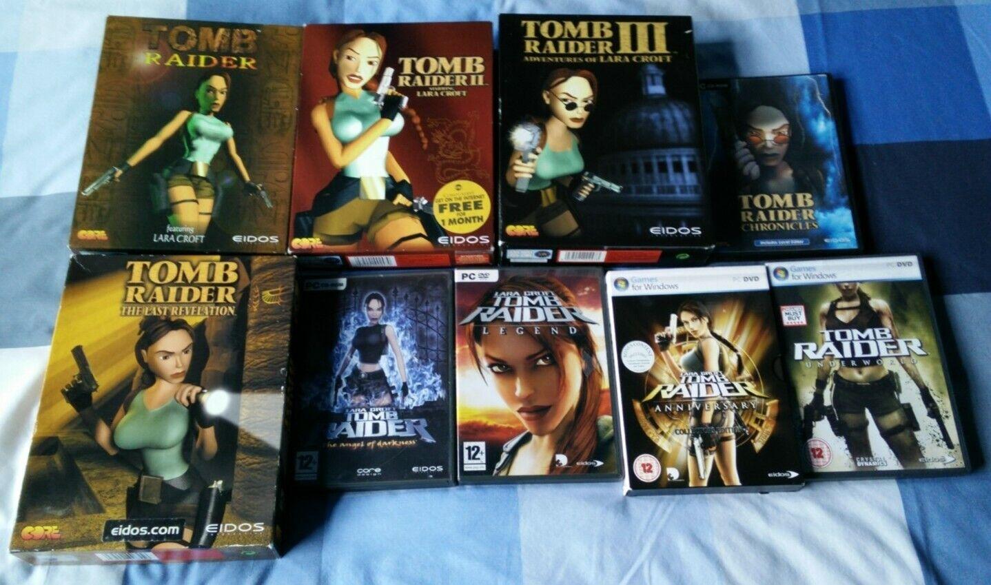 Tomb Raider The Greatest Raids PC DVD