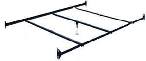 Queen-Size-BOLT-ON-Bed-Frame-Rails-with-3-Cross-Beams-and-one-leg-at-center-arm