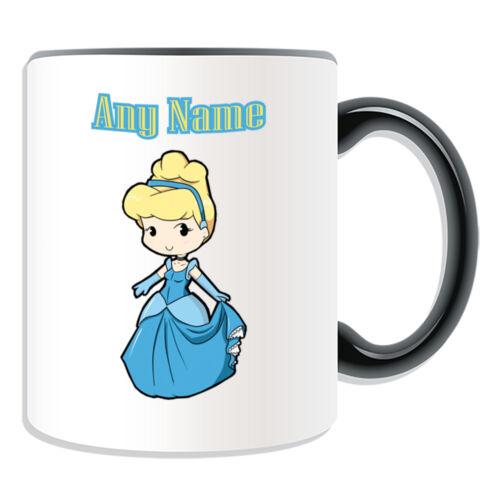 Personalised Gift Cinderella Princess Glass Shoe Mug Money Box Cup Fairy Tale