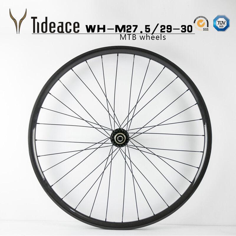 27.5 29er Full Carbon Fiber Mountain Bike Wheels OEM MTB Bicycle Wheelset