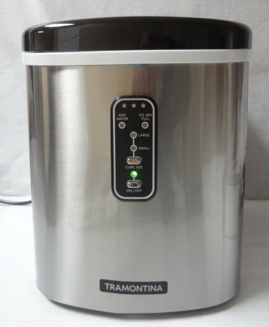 Tramontina Stainless Steel Countertop Ice Maker For Sale Online Ebay