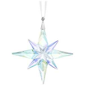 Swarovski-Crystal-Creation-5464868-Star-Ornament-Crystal-AB-Small-RRP-89