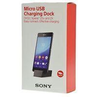 Sony Dk52 Micro Usb Charging Dock Dk52 For Xperia Z3+ Plus Z4 Black