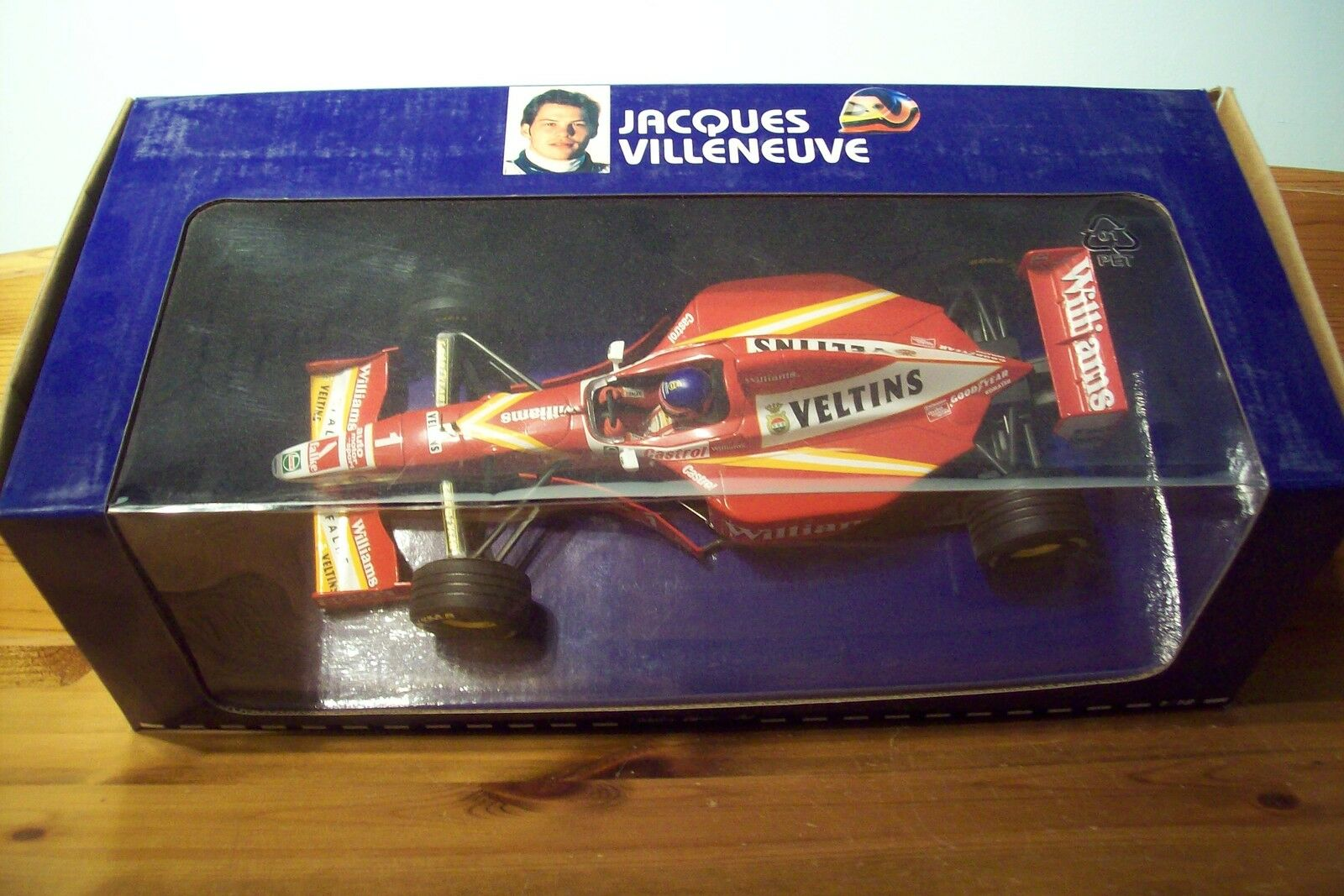 1/18 Williams mecachrome 1998 versione di lancio JACQUES VILLENEUVE SR.