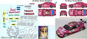 1/43 Décalque Mercedes Benz C-classe Dtm 'tv Fiction' Dtm 2011 Susie Stoddart-afficher Le Titre D'origine