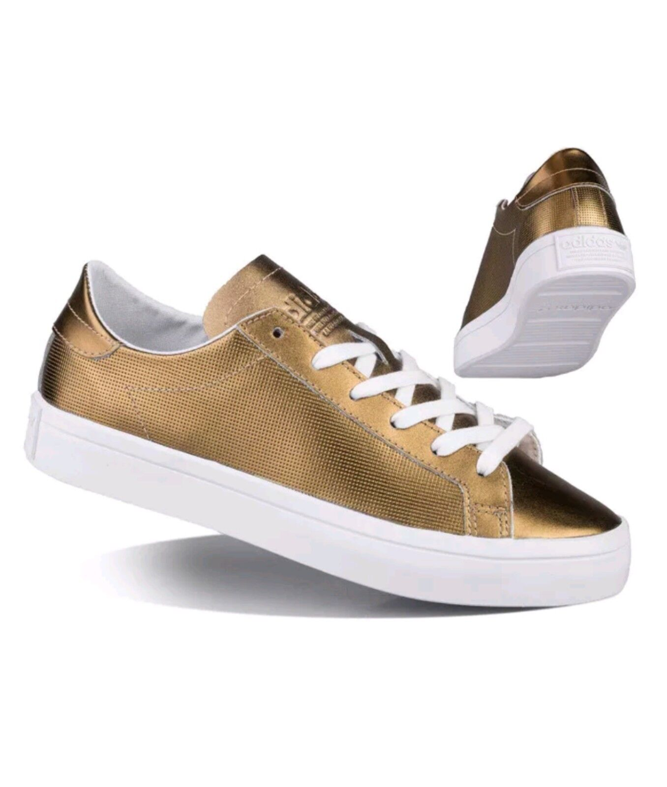 Adidas Courtvantage W Damen Sneaker in Gold, Gr.39 Neu OVP