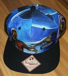 b71c03a21 Details about Bioworld Guardians Of The Galaxy Original Snapback Adjustable  Hat