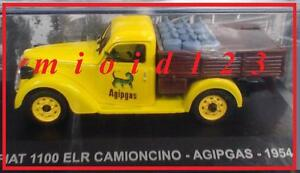 1-43-Fiat-1100-ELR-Camioncino-AGIPGAS-1954-Die-cast