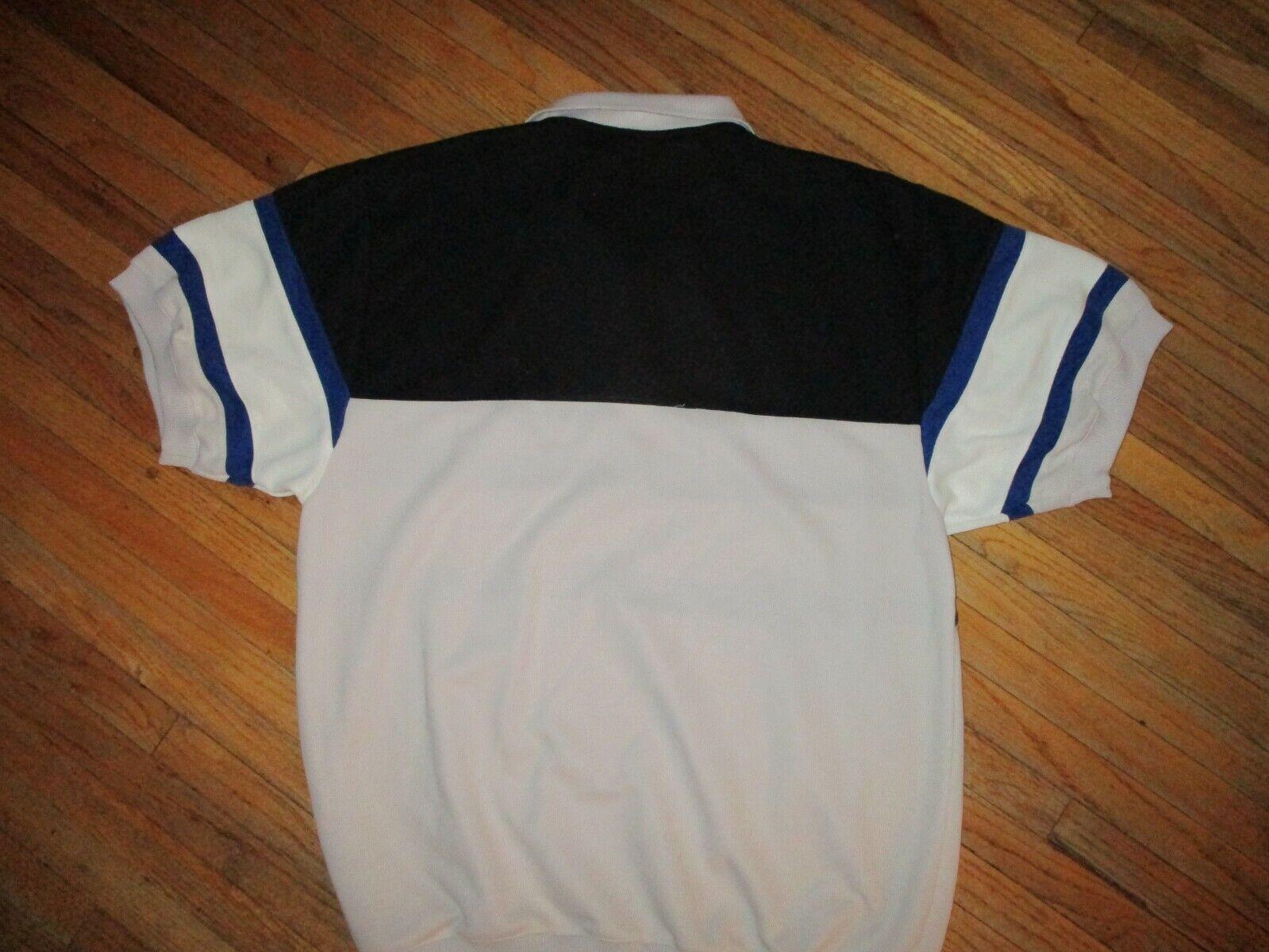 vtg 70s 80s SASSON BRAND POLO SHIRT Short Sleeve … - image 4