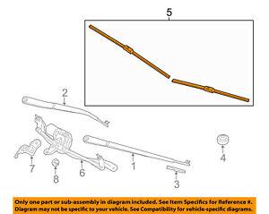 BMW OEM 11-16 528i Wiper Arm-Front Blade 61612163749