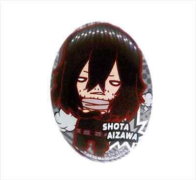 My Hero Academia Shota Aizawa Eraserhead Keychain Charm Button Pin Boku no BNHA