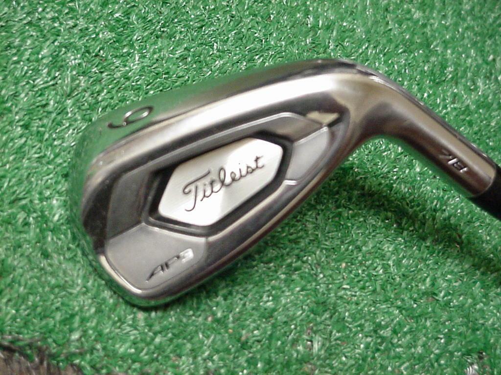 Titleist Ap3 718 9 Iron Nippon Ns Pro Modus 3 Tour 120 Steel Stiff Flex