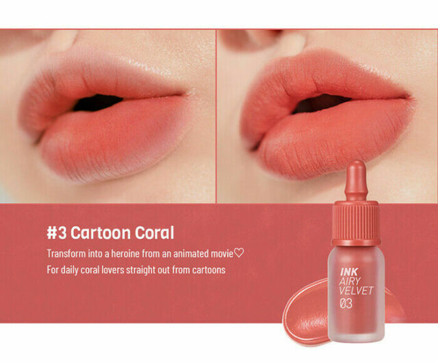 [Peripera] Ink The Airy Velvet (10 Colors)   4g (Nwe Color) by Ebay Seller
