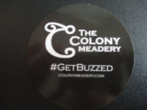 COLONY MEADERY mead pennsylvania STICKER decal craft beer brewing brewery