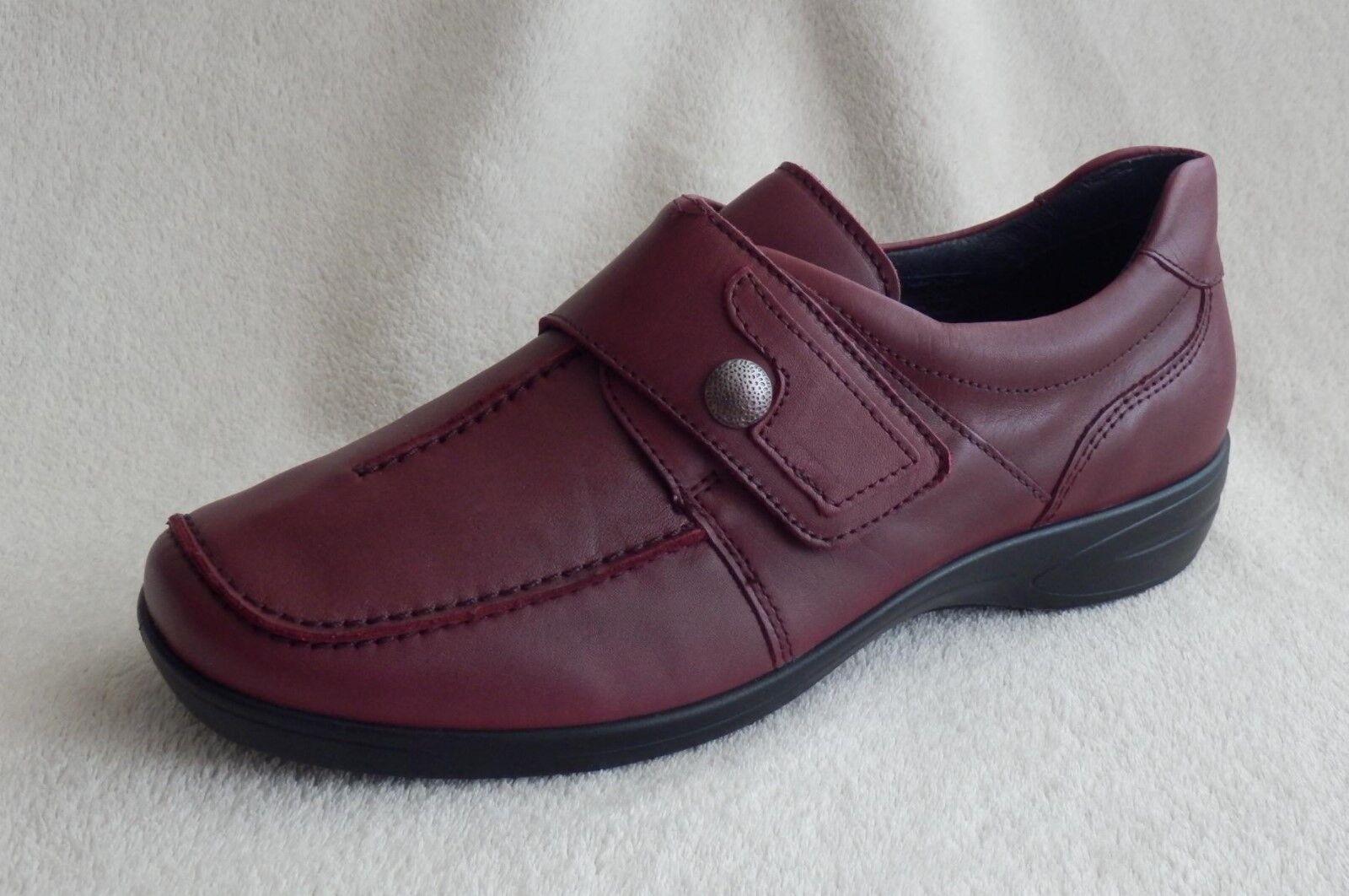 Ara Merano Scarpe Basse Scarpe Velcro Larghezza H 40, borgogna tg. 37,5, 38, 40, H 42 4dc84a