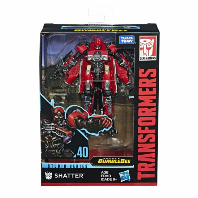 Hasbro Transformers Studio Series #40 Deluxe Class Shatter Action Figure