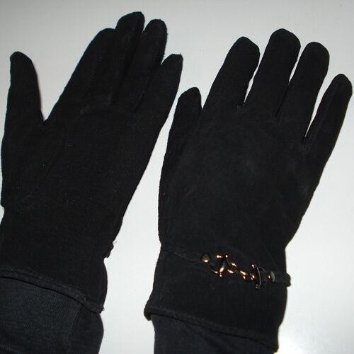NEU Damen Wildlederhandschuhe in verschiedenen Farben 100/% Wildleder