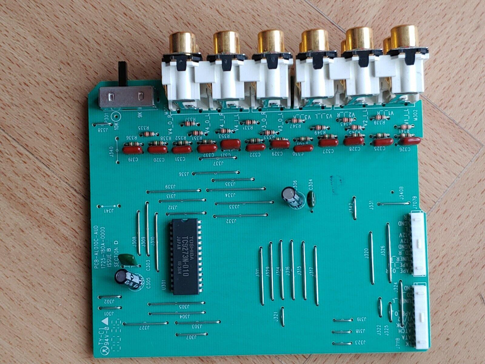 Arcam AVR100 phono input board