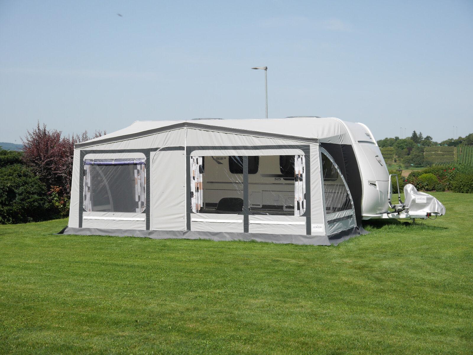 Vorzelt Wohnwagen Reisezelt Zelt Camping ELBA mit Gr. Alugestänge Gr. mit 09 991-1030cm 6bbdb9