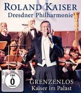 Roland-Kaiser-Dresdner-Philharmonie-Grenzenlos-Kaiser-im-palast-DVD-Neu-in-Folie