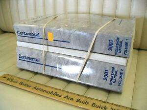 2001 FORD LINCOLN CONTINENTAL 3-Vol Service Manual Set | eBay
