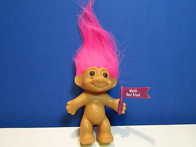 "3/"" Russ Troll Doll #1 SECRETARY NEW IN ORIGINAL WRAPPER"