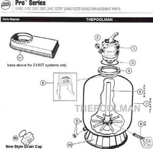 New Hayward Pro Series Sand Filter Replacement Parts Ebay