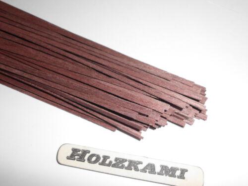 Holzleisten  Dunkelbraun 30 Stück  300mm x 5mm x 1mm  L//B//H  Neu