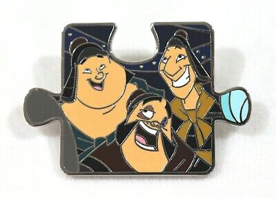 Disney Mulan Mystery Character Connection Puzzle Pin Yao Ling Chien Po Ebay
