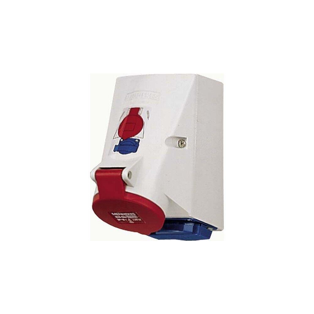 Mennekes 1649 Doppelbox mit TwinCONTACT 16A 5-polig 6h 400V IP44 | Qualität Produkte