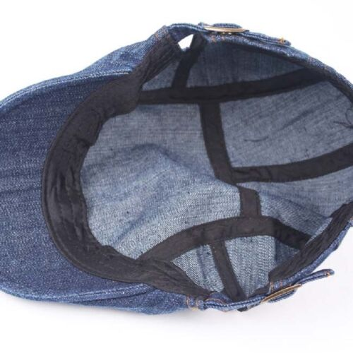 Pure Water Washed Denim Made Of Old Duck Cap Outdoor Sun Shade Hat N7