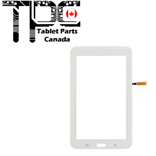 Samsung Galaxy Tab 3 Lite SM-T110 7.0 Touch Screen Digitizer - White w/Adhesive