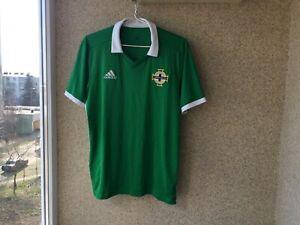 online retailer b623a 2542a Details about Northern Ireland Football Shirts 2018/2019 Jersey L Adidas  Soccer
