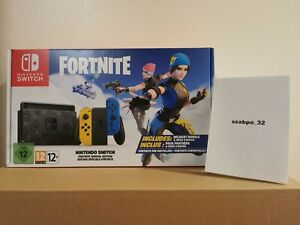 Nintendo-Switch-Fortnite-Special-Edition-Brand-new-Sealed