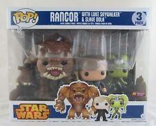 """Rancor 6/"""" Luke Skywalker /& Slave Oola US Exclusive 3 Pack Star Wars Pop #03"""