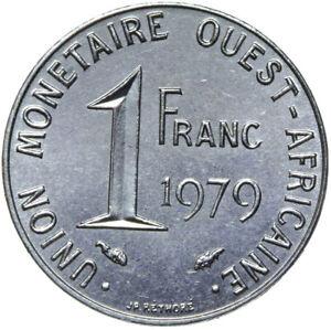 Franzoesisch-Westafrika-Muenze-1-Franc-1979