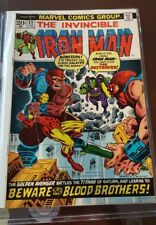 INVINCIBLE IRON MAN #55 1st Appearance of Thanos Drax Marvel 1973 MARVEL