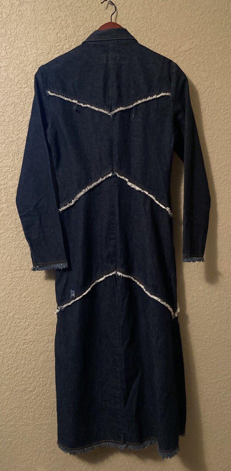 Paris Blues Originals Denim Dress Small Cotton Sn… - image 2