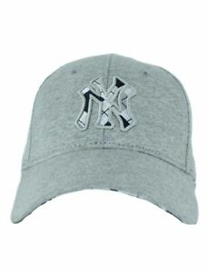 New Era, Mlb Ny New York Yankees Casquette Réglable, Jersey, Gris Snapback