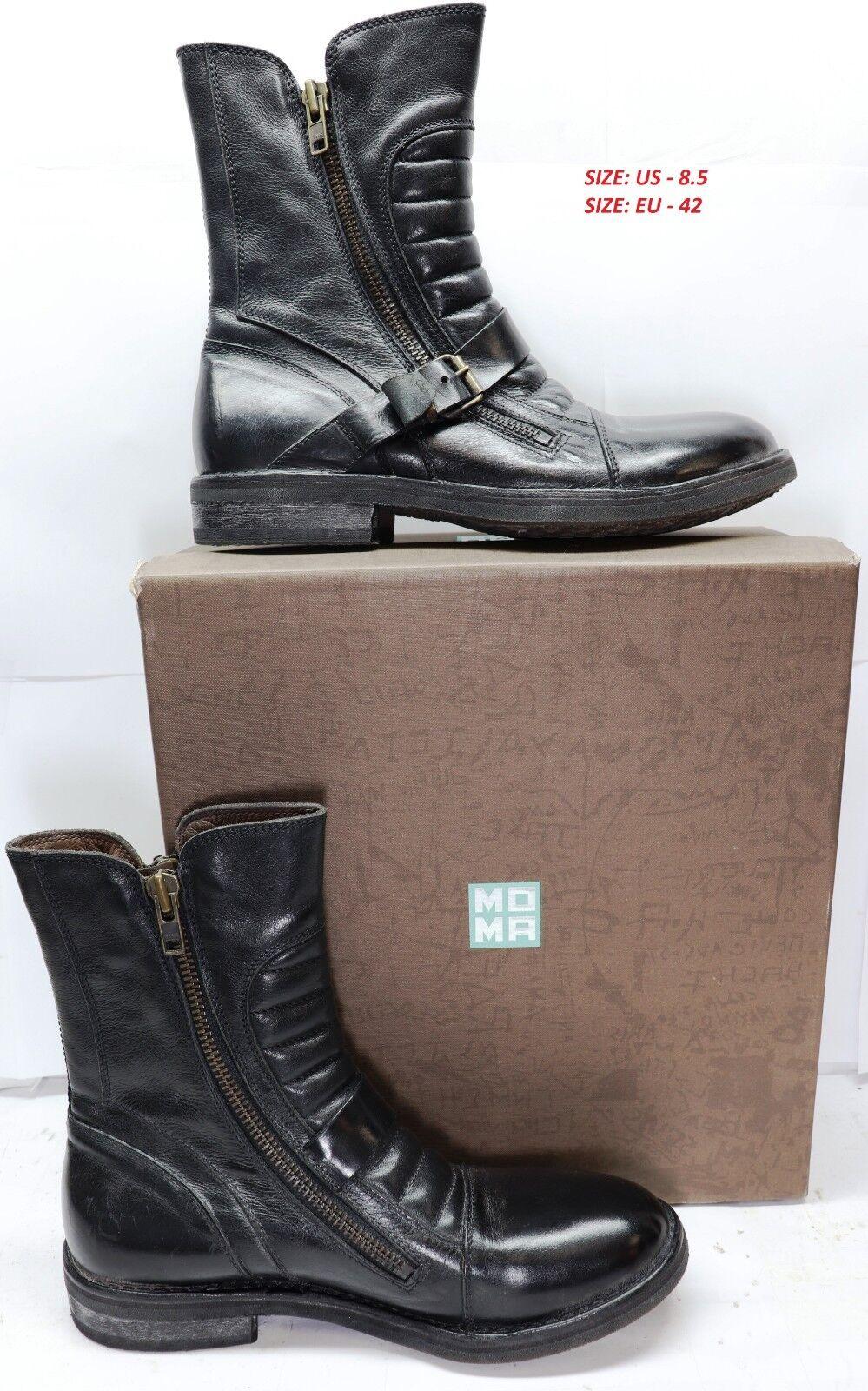 l'intera rete più bassa Margom Rockford Nero nero Leather Uomo 60204 scarpe scarpe scarpe US 8.5   EU 42  più preferenziale