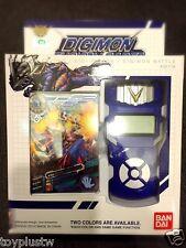 NEW Bandai Digimon Xros Wars BLUE Fusion Loader ENGLISH Digivice Data Link NEO