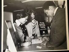 Muhammad Ali - signature- initiales du nom- carte de crédit+ photographie 1/6/79