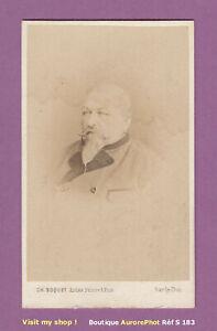 CDV-BOQUET-a-BAR-LE-DUC-LE-COMTE-DE-SAINT-BASLEMONT-VERS-1865-NOBLESSE-S183