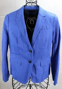 J-CREW-Schoolboy-Cobalt-Blue-Classic-2-Button-Blazer-Jacket-6