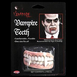 Undead-Monster-Horror-Teeth-VAMPIRE-FANGS-DENTURE-Cosplay-Costume-Prop-Accessory