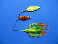 3/8 oz Spinner Bait FIRETIGER TIPS bass musky pike jig tackle lure lot T38Wpr212