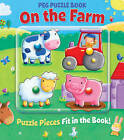 Peg Puzzle Book - On the Farm by Lake Press (Board book, 2013)