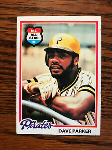1978 Topps #560 Dave Parker Baseball Card Raw Pittsburgh Pirates NL All Star