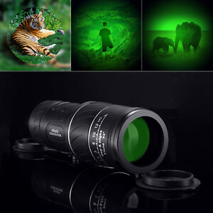 New-Day-amp-Night-Vision-40X60-HD-Optical-Monocular-Hunting-Camping-Hiking-Telescope